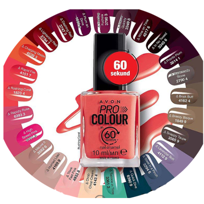 Lakier do paznokci 3w1: Baza + Kolor + Top Coat ( 60 s !)