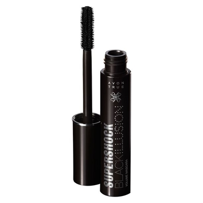 Tusz do rzęs SuperShock Black Illusion - AVON TRUE