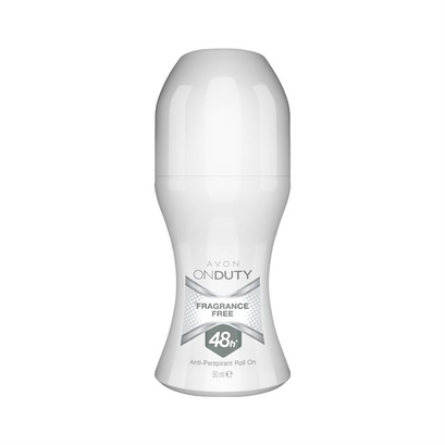 Bezzapachowy antyperspirant unisex Avon On Duty (50 ml)